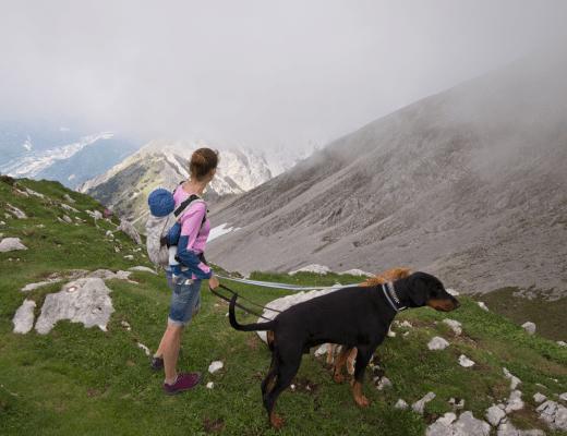 dziecko w górach, góry z dzieckiem