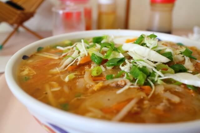 美味しんぼ山岡の和風担々麺