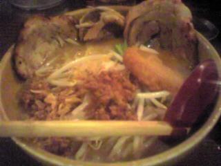 麺屋國丸 信州味噌の炙りチャーシュー麺
