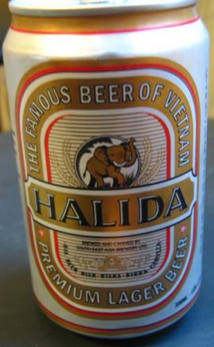 ベトナムビール HALIDA