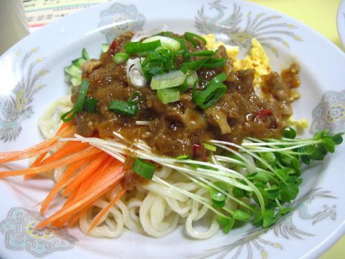 中華家庭料理中国菜館 炸醤麺(ジャージャーメン)
