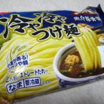 日清 冷や冷やつけ麺 魚介豚骨醤油 & 自作・チキンカツ丼