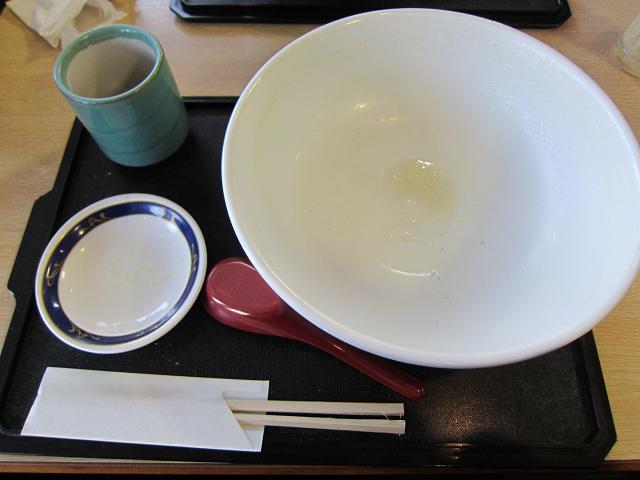 2日目! JAレストランちらん亭 黒豚ラーメン 圧倒的完食!
