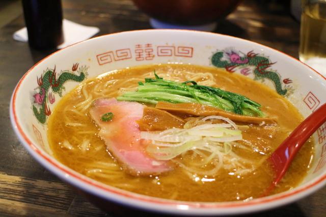 製麺所蔵木「濃厚魚介とんこつらーめん」