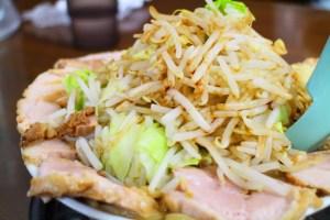 日清「つけ麺の達人」を使って「ラーメン二郎」っぽいのを作る