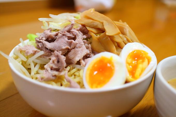 自作・デカ盛りつけ麺2