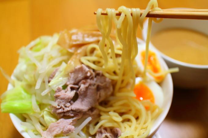 自作・デカ盛りつけ麺3