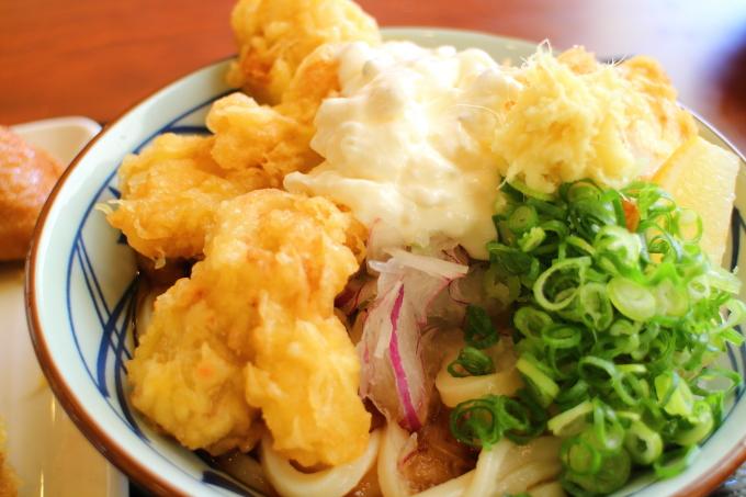丸亀製麺・タル鶏天ぶっかけ6