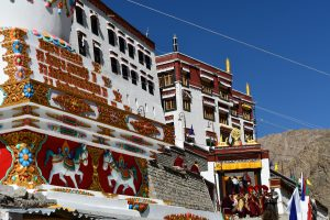 Festival de danse sacrée au monastère de Phyang