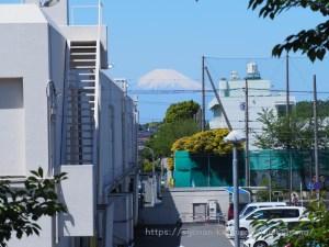 桂山公園 富士山