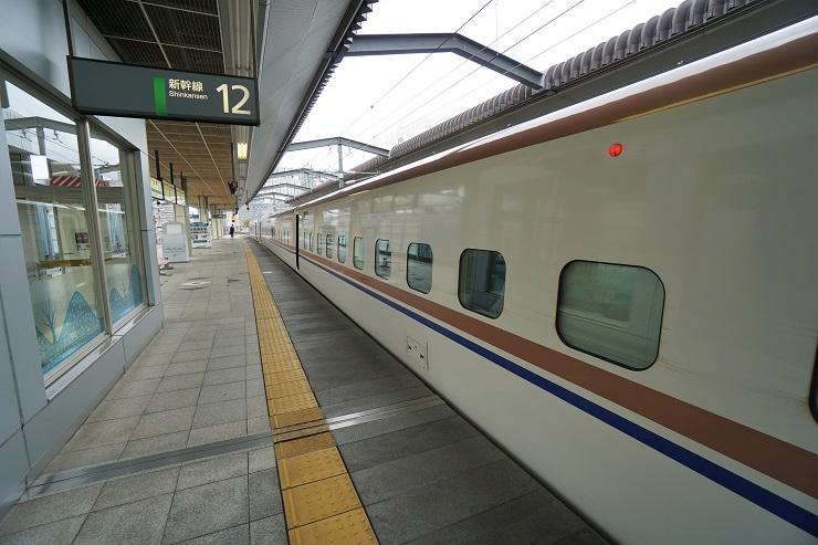 長野駅到着