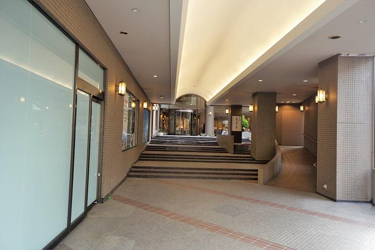 JALホテル入口