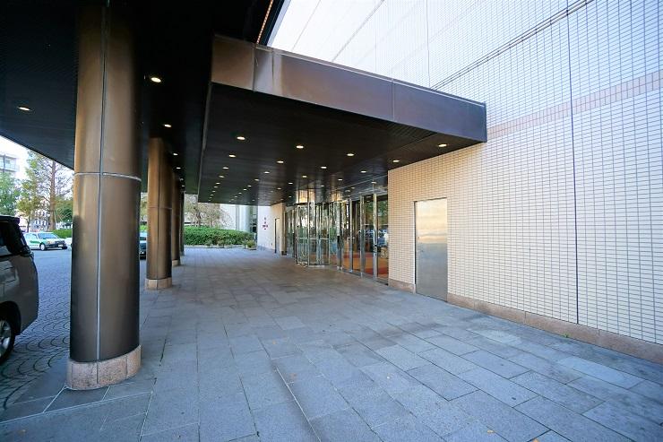 ANAクラウンプラザホテル新潟入口