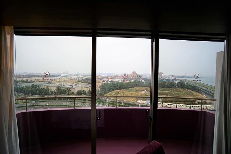 1291号室から見える景色