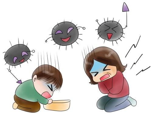ノロウィルスの症状 幼児と子供と大人の予防法