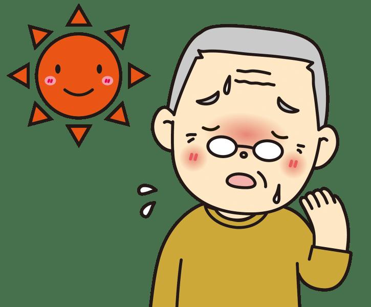 熱中症の症状【寒気・発熱・頭痛・下痢・吐き気など】と処置