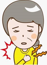 心筋梗塞の前兆をチェック!背中・左肩・歯の痛み・血圧など