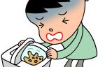 子供の嘔吐の原因と対処法は?咳・発熱・下痢なしなど