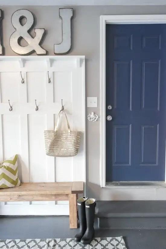 One Room Challenge Week 6 - Garage Reveal - Sypsie.com on Garage Door Colors Ideas  id=36499