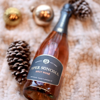 Wines for Holiday Dinner Piper Sonoma Brut Rose