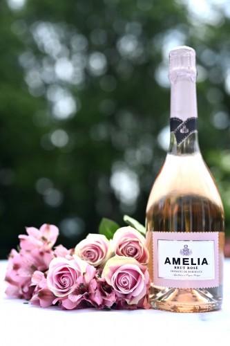 Best Sparkling Rosé - Amelia Brut Cremant D'Bordeauxx Rosé