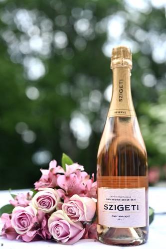Best Sparkling Rosé - Szigeti Pinot Noir Sekt Brut Rosé