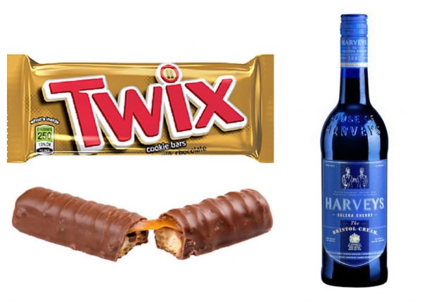Halloween Candy and Sherry Wine