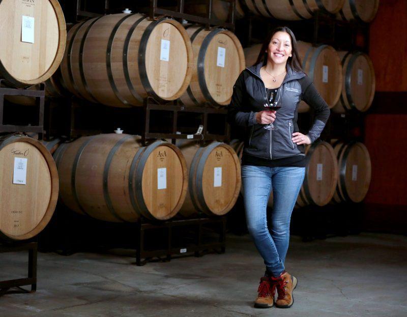Theresa Heredia Winemaker Gary Farrell