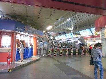 Inside BTS Station