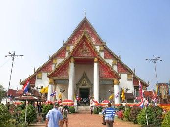 Wat Mongkhon Bophit, Ayutthaya, Thailand
