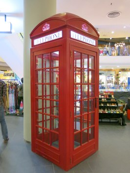 Telephone? Just decoration inside Terminal 21 :-D