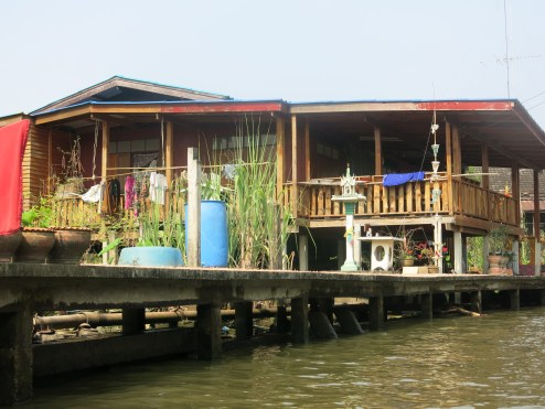 House at Floating Market area