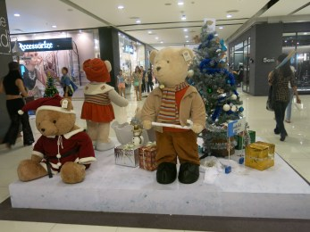 Inside Central World Shopping Center