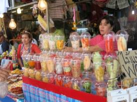 Fruit dessert or mixed juice, Chatuchak Market, Bangkok