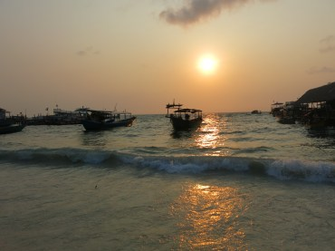 Sunrise at Koh Toch beach, Koh Rong