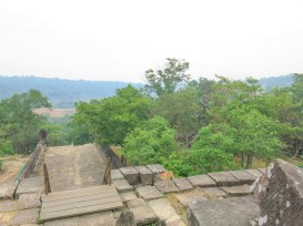 Down there is the area where Khmer and Thai soldiers meet