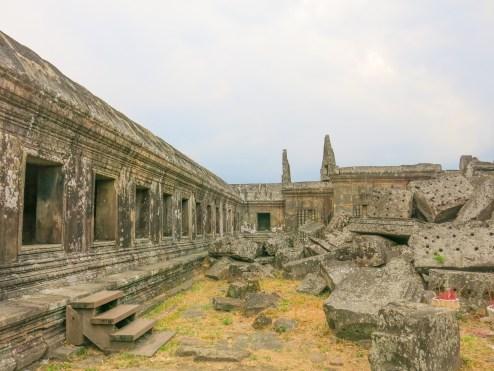 Inside main sanctuary compound