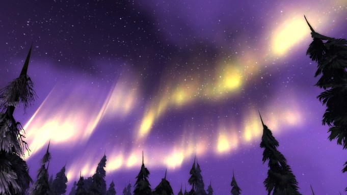 Aurora in Howling Fjord