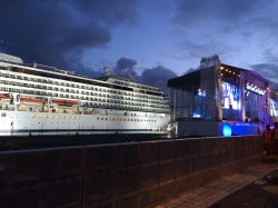 The new cruise ship Viking Star's christening