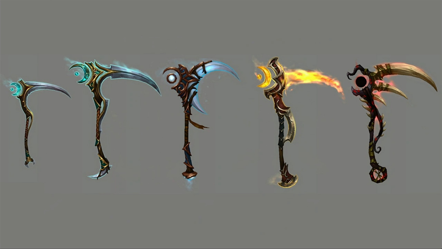 Changing Color Artifact Weapon Druid Wow