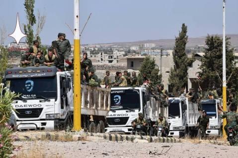 syrian regime forces retake golan