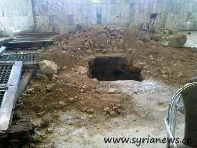 Hijir Bin Adi al-Kindi grave in Adra, Damascus countryside