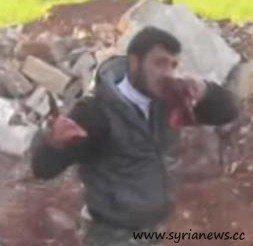 Cannibalism Syria Abu Sakkar / Khalid al Hamad