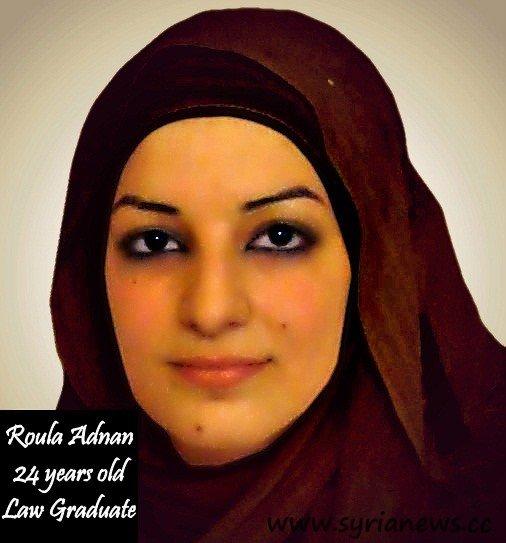 femicide - Roula Adnan murdered in Syria