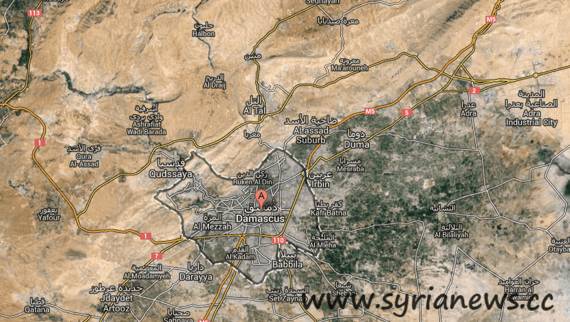 Syria: Damascus and its countryside.