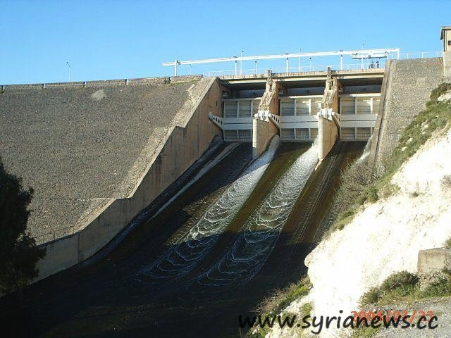 Ar-Rastan Dam north of Homs