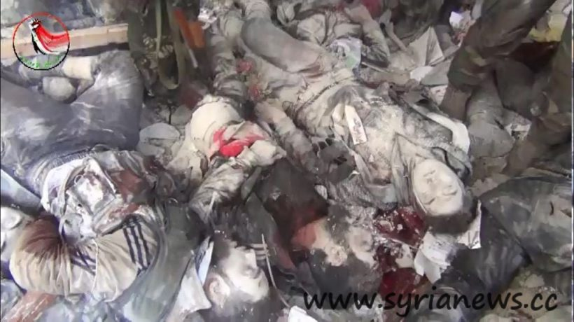 """Syrian Armed Forces Kill Tens of Obama regime""""s Alqaeda terrorsits"""