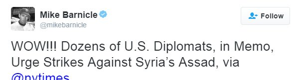 us-diplomats-call-for-war against syria - aleppo