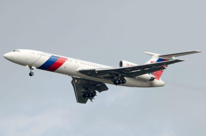 image-Russian Tupolev Tu-154