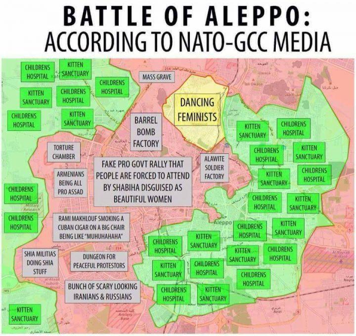 NATO msm map of Aleppo governate